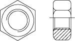 ГОСТ 5915-70 Гайка шестигранная, класс точности B