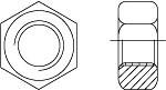 ГОСТ 15526-70 Гайка шестигранная