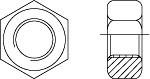ГОСТ 9064-75 Гайка для фланцевых соединений