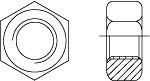 Гайка шестигранная высокопрочная ГОСТ 22354-77