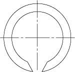 ГОСТ 13940-86 Кольца пружинные упорные плоские наружные концентрические