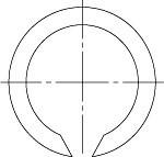 ГОСТ 13941-86 Кольца пружинные упорные плоские внутренние концентрические