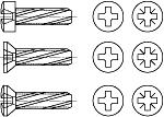 DIN 7516 Винт самонарезающий с крестообразным шлицем